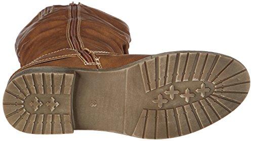Jane Klain 266 288 Damen Biker Boots Braun (cognac 456)
