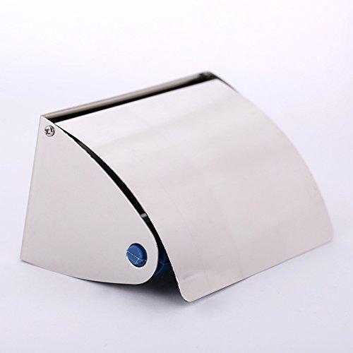 Bagno scatola del tessuto bagno Servizi vassoio rotolo a parete porta carta, acciaio inox