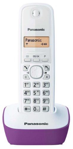 Panasonic KX-TG1611FRW - Teléfono fijo inalámbrico