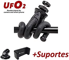 Fotopro Flexible Gorillapod Mini Tripod Stand with Gopro Mount & Mobile Holder for DSLR Camera, Gopro and Smartphone Payload 3Kg