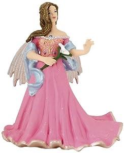 Papo 38814 - Figura de Elfo con Flor de LYS y Vestido Color Rosa