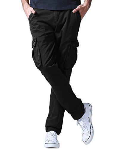 Match Pantalons Cargo pour Hommes #6531 6531 Noir(Black)