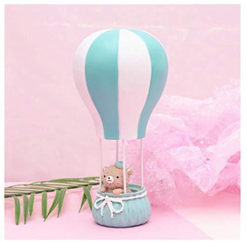 Creativa linda pareja adornos de globos aerostáticos luces de la noche luces de confesión nuevas extrañas decoraciones de escritorio regalos de los estudiantes 11 * 24 cm