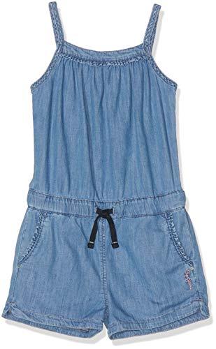 Pepe Jeans Mädchen Shelly Overall, Blau (Lightweight Denim 000), 11-12 Jahre (Herstellergröße: 12) - Denim Kinder Overalls