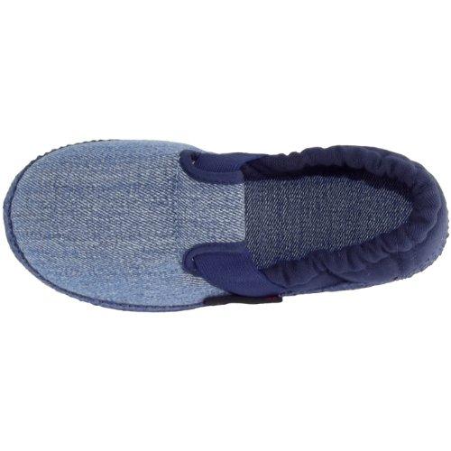 Giesswein Aichach, Chaussons bas unisexe jean/bleu foncé