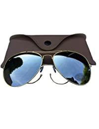 USA MILITARY ISSUE AVIATOR STYLE SUNGLASSES MIRROR LENS, LATEST SPEC MILITARY COOL