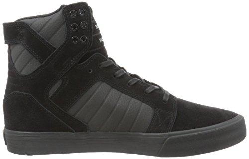 Supra SKYTOP, Sneaker alta Unisex – adulto Black