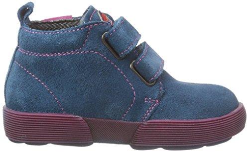 Naturino PRADO Mädchen Kurzschaft Hohe Sneaker Blau (Erdoel)