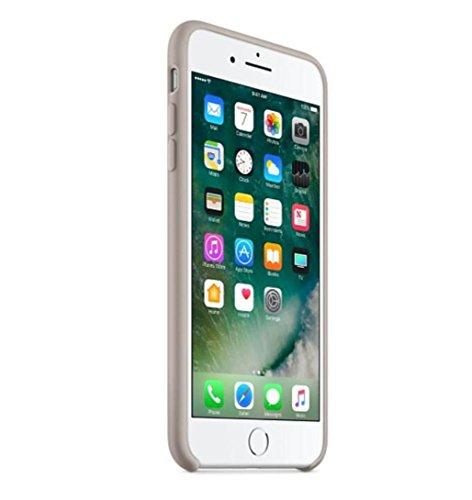 Cover per iPhone 7, Tpulling Custodia per iPhone 7 Case Cover Shell sottile della copertura di caso di cuoio di alta qualità per il iPhone 7 4.7 pollici (Red) Beige