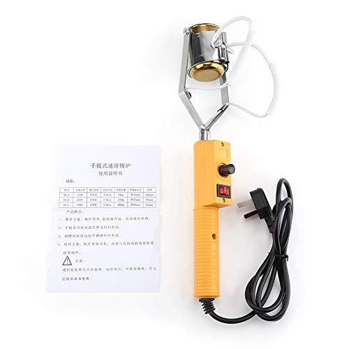 Löttopf, 180W / 280W elektrischer tragbarer Löttopf-Schmelzzinnofen mit Temperaturregelung (180W)