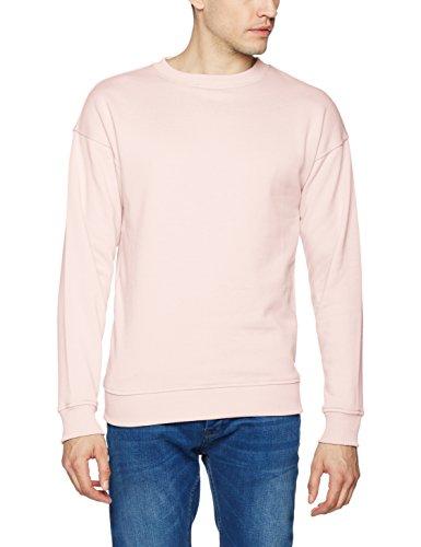 Crewneck Pullover (Urban Classics TB1591 Herren Pullover Sweat Crewneck Rosa (Pink 185), Large)