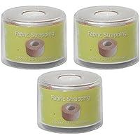 3Stück cms Erste Hilfe Stoff Pflaster Umreifung Tape Gap & Spule 2,5cm x 1,5m preisvergleich bei billige-tabletten.eu
