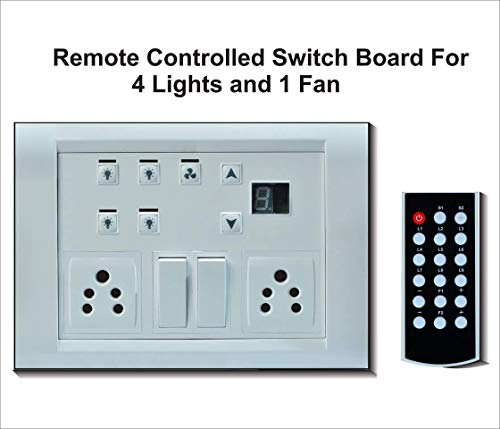 Carolight Remote Controlled Switcher for 4 lights and 1 Fan