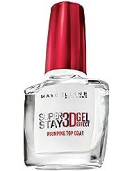 Maybelline New York Make-Up Nagellack Superstay 3D Gel-Effekt Topcoat / Gel- Überlack ohne UV-Lampe, mit bis zu 10 Tagen Halt, 1 x 10 ml