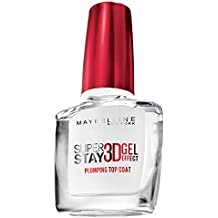 Maybelline New York Superstay 7 Days 3D Gel Top Coat Effetto Gel