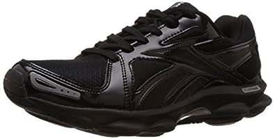 Reebok Men's Runtone Doheny Trend Black And Silver Running Shoes - 13 UK