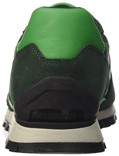 BIKKEMBERGS Herren fend-Er 947 Low-Top Verde (Green)