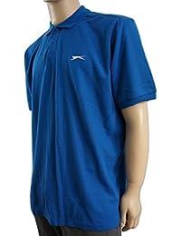 Slazenger - Polo -  - Manches courtes Homme Bleu Bleu cobalt