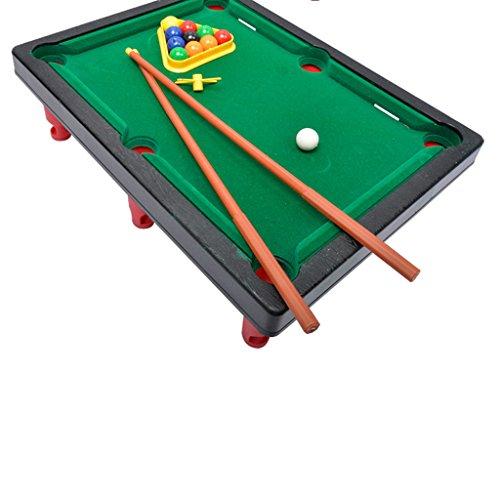 MagiDeal Mini Billard Ball Tabletop Desktop-Spiel-Set Kinder Weinachten -Spielzeug Schwarz (Tabletop-sport-spiel)