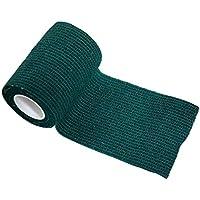 Haftbandage - 6 Rollen 7,5 cm x 4,5 m, grün, selbstklebend, elastische Bandage preisvergleich bei billige-tabletten.eu