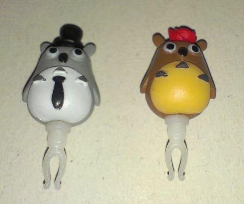 Totoro Headphone Dust Plug