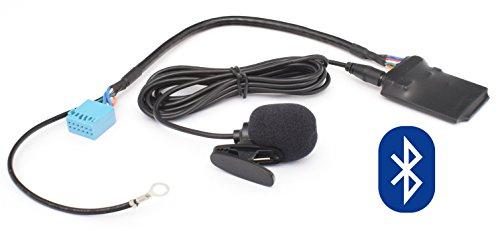Bluetooth Audio Freisprechanlage 12pin Quadlock VW: RCD-210/510, RNS-310/315/510 ab JULI 2010 - - - - Skoda: Beat, Cruise, Swing - - - - Audi: Chorus 2+/3, Concert 2+/3, Symphony 2+/3, Navigation Plus 3, RNS-E, BNS 5.0 AB JULI 2010 - 510-usb Bluetooth