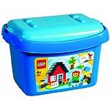 LEGO BRIQUES 6161 BOITE BLEUE DE BRIQUES - BARIL