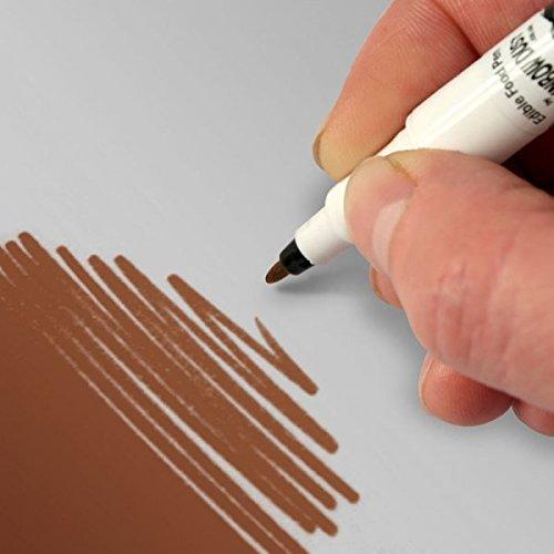 EDIBLE FOOD PEN - SCHOKOLADE - Lebensmittel Farbstift - Rainbow Dust + Ausstechform (Bundle) Pen Bundle