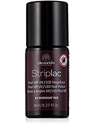 alessandro Striplac 54 Midnight red, 1er Pack (1 x 8 ml)