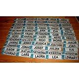Albatros - nombre de matrículas de molde MINI Leo