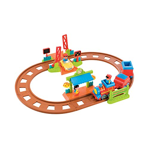 Early Learning Centre 148432 HAPPYLAND - Juego de Trenes