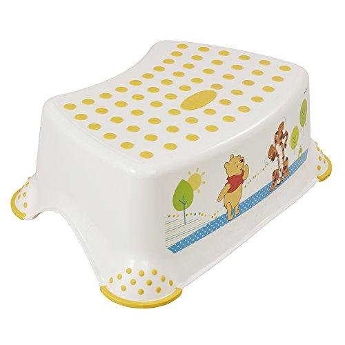 keeeper Winnie Tritthocker, Ab ca. 18 Monate bis ca. 10 Jahre, Anti-Rutsch-Funktion, Tomek, Weiß (Jungen-kleinkind-stuhl Disney)
