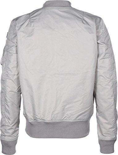 Schott NYC Herren Jacke  JKTAC2 Silber