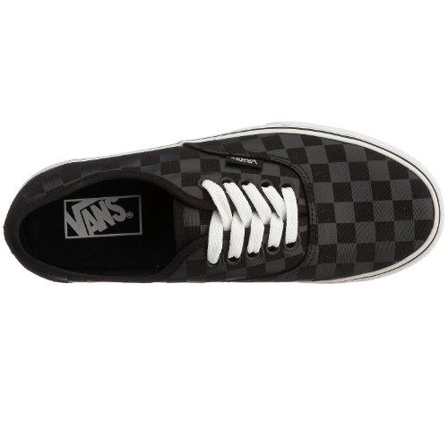 Vans Authentic vee3276, Unisex - Erwachsene Sneaker (Checkerboard) Black/Black