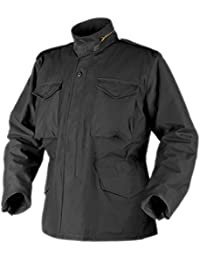HELIKON GENUINE M65 FIELD JACKET ARMY COAT + LINER WINTER (Black, Small)