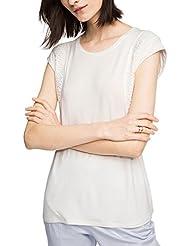 ESPRIT Collection Mit Spitze, Camiseta Para Mujer