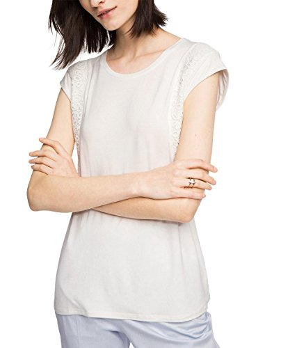 ESPRIT Collection Damen T-Shirt Weiß (OFF WHITE 110)