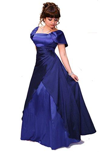 Juju und Christine Damen Abendkleid Empire Farbe Größe Royalblau