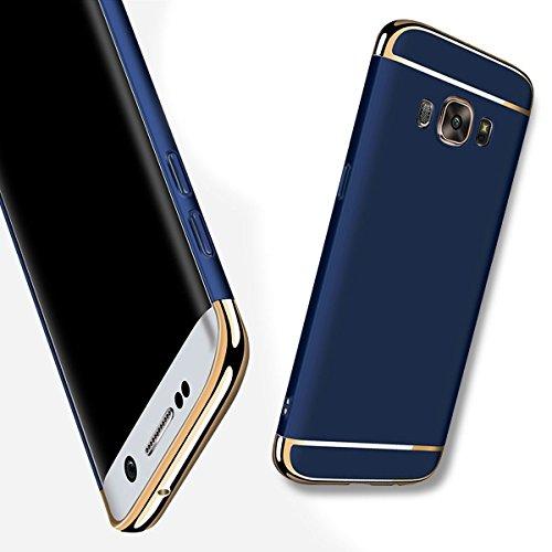 fest Hülle für Samsung Galaxy J7 2016/J710 Ultra Dünn Schutz Schutzhülle Anti-Kratzer Ultra Dünner Case Entwurf Hart PC Skin für Samsung Galaxy J7 2016 - Blau ()