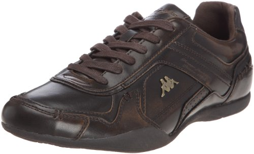 kappa-mens-ollow-man-hbos-fashion-trainers-302npt0-dk-brown-old-gold-red-8-uk