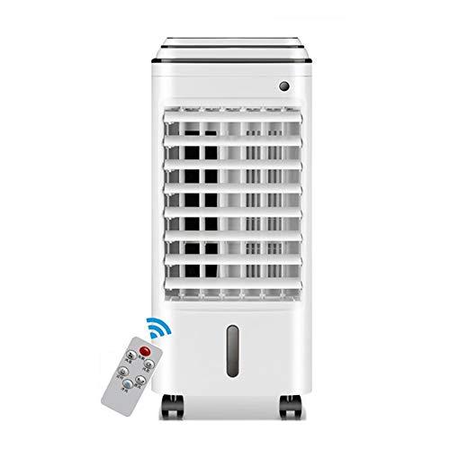 FANS LHA Kleiner Klimaanlagenlüfter Schnelle Kühlung DREI-Stufen-Einstellung Intelligente Fernbedienung, 75W, Weiß