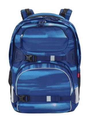 4YOU Basic Schulrucksack Pekka 883 Shades Blue