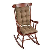 The Gripper Non-Slip Omega Jumbo Rocking Chair Cushions, Gold