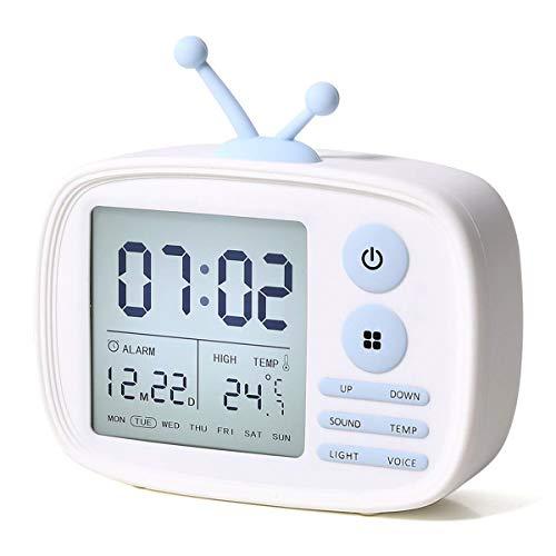 EKOHOME Despertadores Digitales Niños TV Relojes
