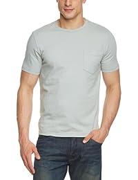 Dockers - Camiseta slim fit con cuello redondo de manga corta para hombre
