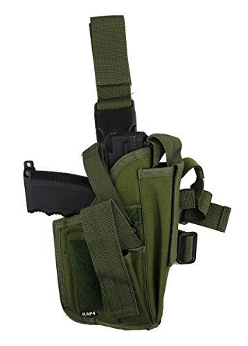 Tactical Drop Leg Gun Right Hand - Large (Tippmann Gun Airsoft)
