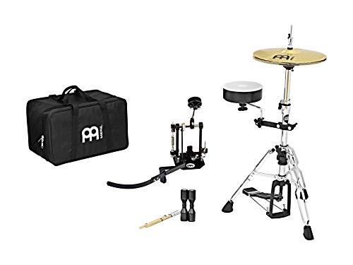 MEINL Percussion Cajon Drum Set - inkl. Pedal/Cajon Snare/Multi Clamp/HiHat/LowHat/Multi Rod/Cajon Decke/Shaker/Gig Bag (CAJ-KIT) (Cajon-drum-set)