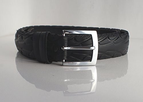 Fahrradreifen-GÜRTEL I 40mm Chrom -vegan- - 4