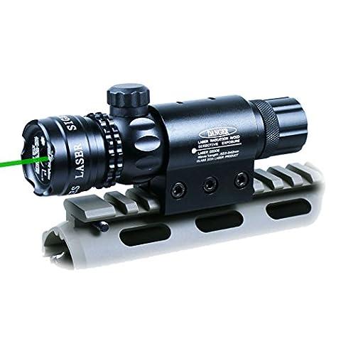 Cible Pistolet A Bille - point laser vert dehors ajusté fusil de