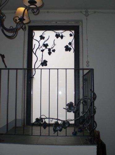 Cancello portone ferro battuto . realizzazioni personalizzate . 559